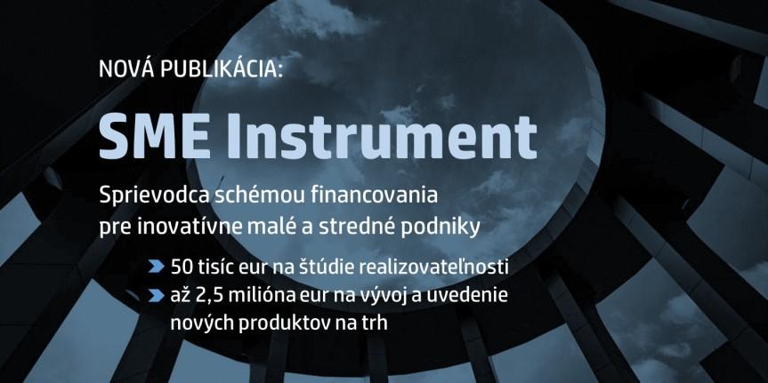 Nová publikácia: SMEInstrument