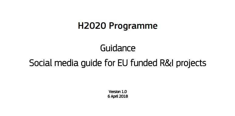 h2020-social.media-guide