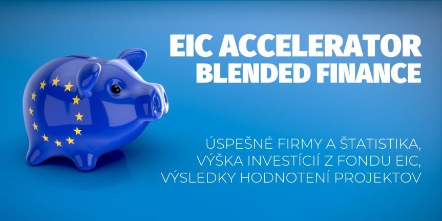 Štatistika prvej výzvy na zmiešané financovanie EIC Accelerator. Ako dopadlo rozdeľovanie investícií z nového fonduEIC