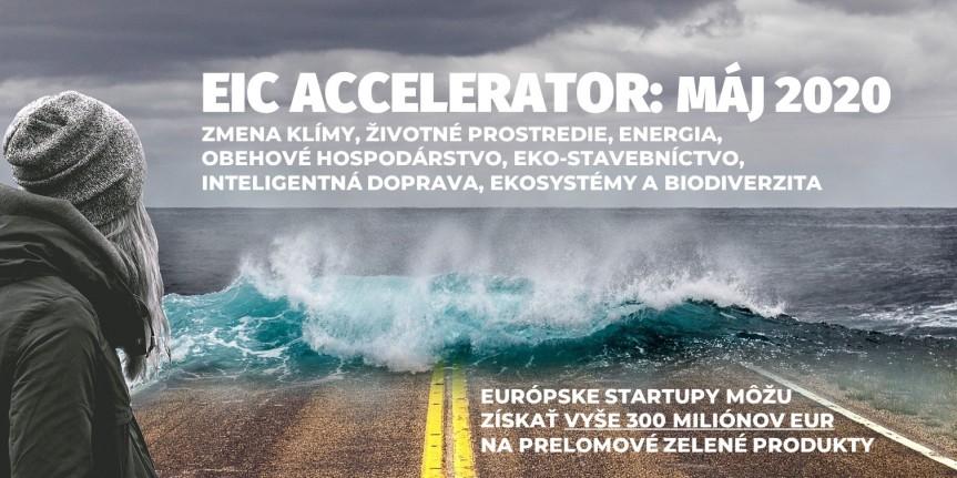 EIC Accelerator podporí v májovej výzve firmy, ktoré chcú uviesť svoje prelomové zelené riešenia natrh
